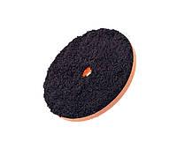 """MGCB6 150 мм (6"""") Полировальный круг микрофибровый для эксцентрика c 19 мм отверстием, черный"""