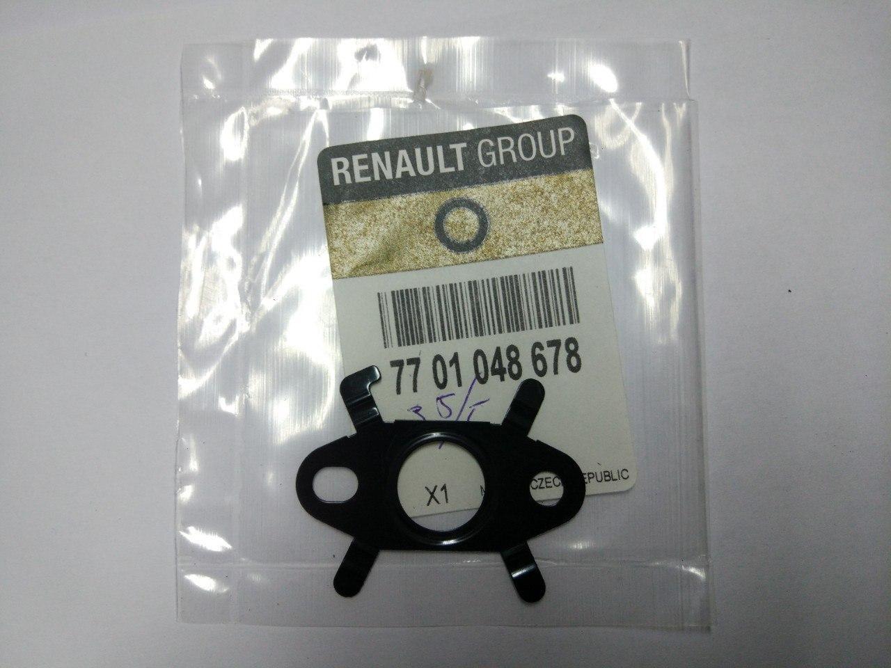 Прокладка випускної масляної трубки Renault Trafic, Opel Vivaro, 2001-2013, Renault 7701048678
