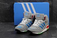 Чоловічі зимові кросівки  Adidas ZX 750 сірі (3285)