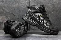 Мужские зимние кроссовки Salomon X-Ultra черные с серым 3624