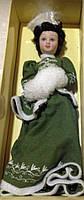 Сувенирная кукла, фарфоровая, коллекционная  Porcelain Doll 20см.