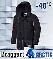 Braggart 2473 | Зимняя парка чёрная