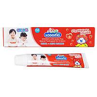 Детская зубная паста-крем со вкусом  Клубники  Kodomo Cream