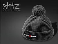 Модная шапка с помпоном Reebok Crossfit , фото 1