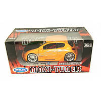 """WELLY   Мет. машина """"PEUGEOT 206 Tuning""""  1:24"""