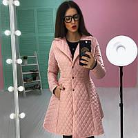 Женское оригинальное пальто с расклешенным низом (2 цвета)