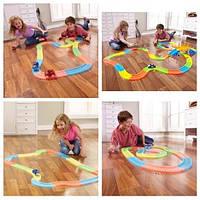 Детская игрушечная дорога MAGIC TRACKS 220 деталей+2 машинки