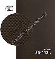 Резина подметочная KANEIJI B6003, р.1130*560*1.0 мм, цв. темно-коричневый
