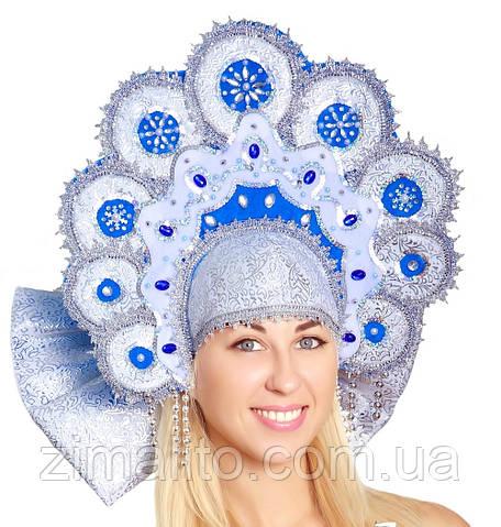 Кокошник Ромашка взрослый карнавальный костюм