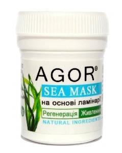 """Морская маска """"Регенерация Питание"""", Agor, 4 г, фото 2"""