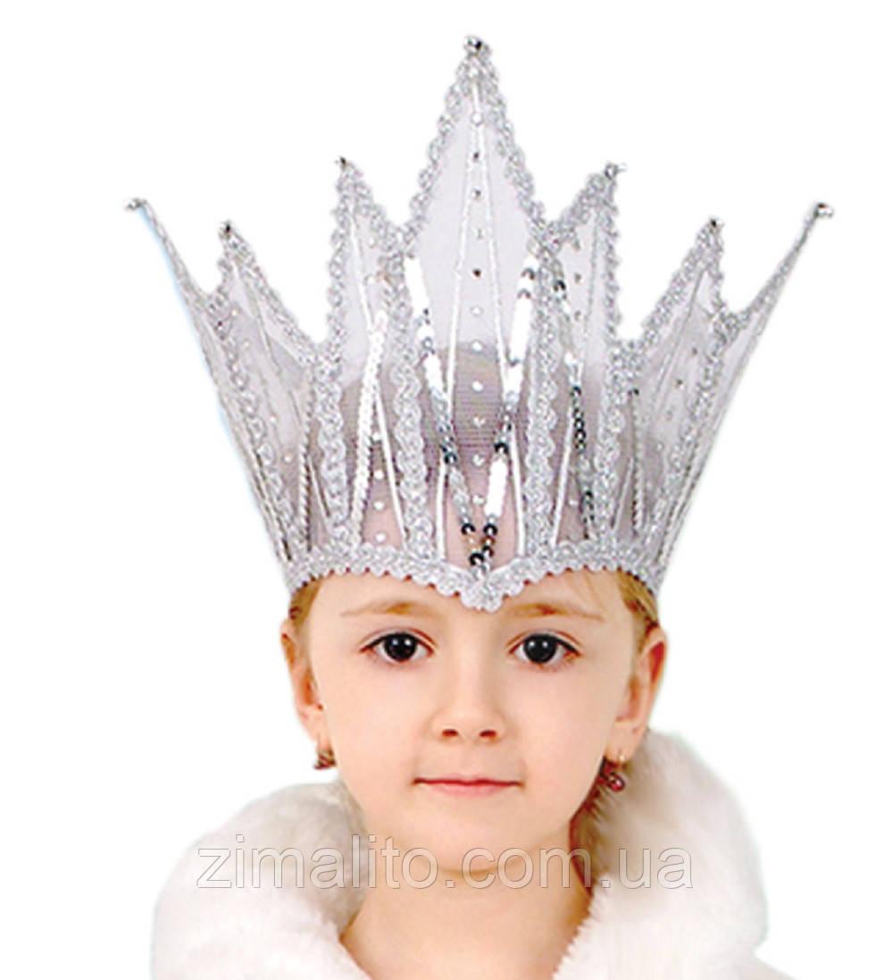 Корона Снежной Королевы детская
