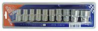 Набор головок Super Locker CRV 1/2, 10шт (10-24мм)