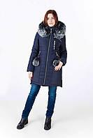Женская зимняя куртка Марианна (42-50)синий