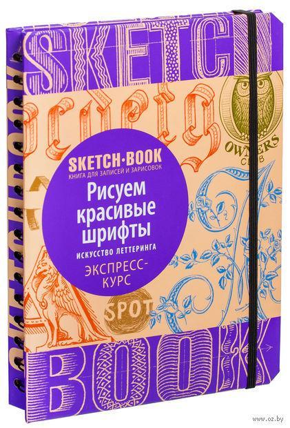 Скетчбук Рисуем красивые шрифты Искусство леттеринга