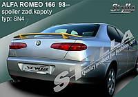 СПОЙЛЕР ALFA ROMEO 166