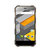 Смартфон Телефон Бронированный Sigma mobile X-treme PQ24 Black/Orange защита от воды и пыли IP68 аккумулятор 5000 мАч
