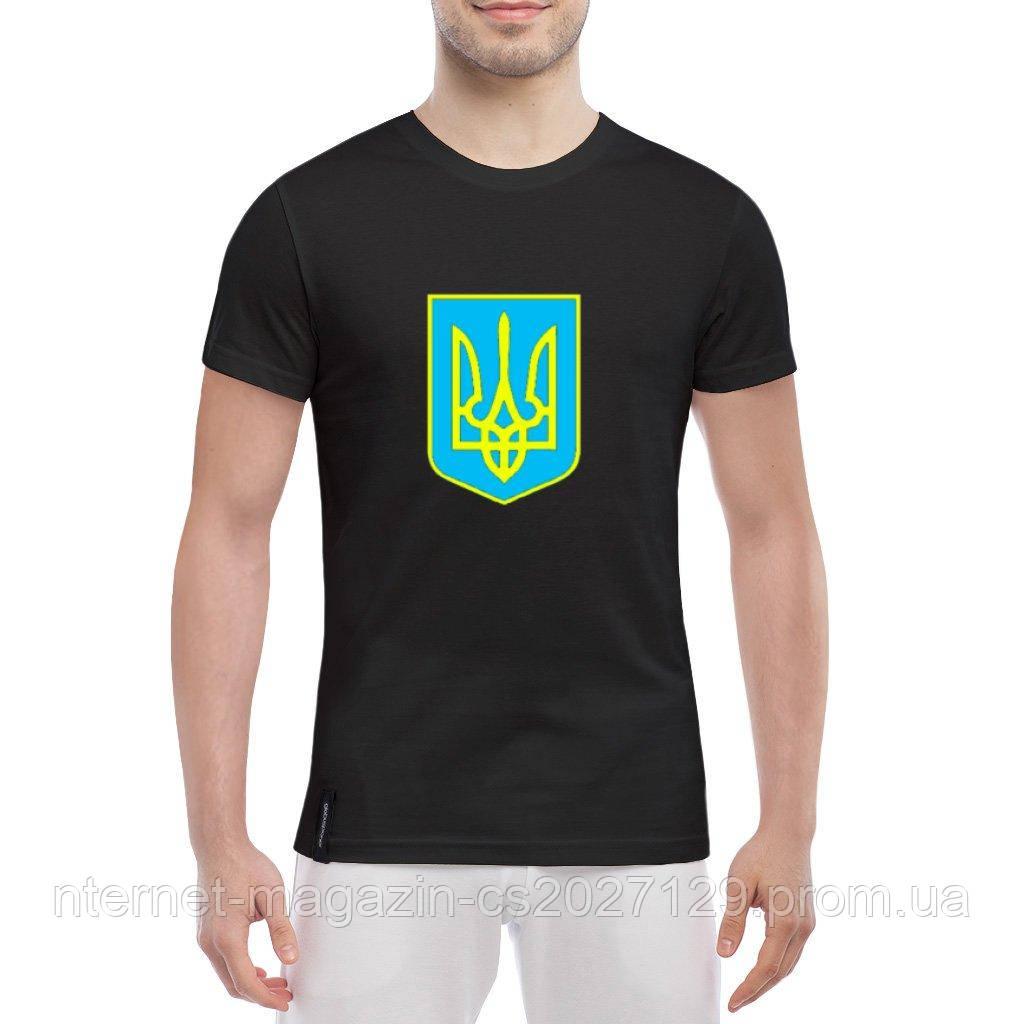 Футболка с Гербом Украины - патриотические футболки Украины