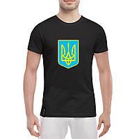 Футболка с Гербом Украины - патриотические футболки Украины 2efec7c5f528c