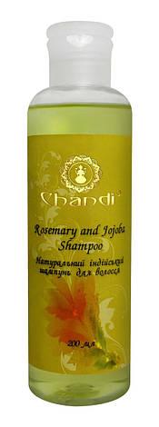 "Chandi индийский шампунь ""Жожоба і Розмарин"" 200 мл, фото 2"