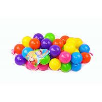 Шарики для сухого бассейна 80 мм мягкие 50 шт.  в сетке   M- toys