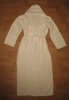 Очень мягенький и приятный халат для женщин и подростков. 3 цвета кремовый, 6-8 лет