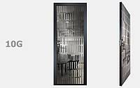 Двери межкомнатные с зеркалом пескоструй Графит рис. 10-19, фото 1