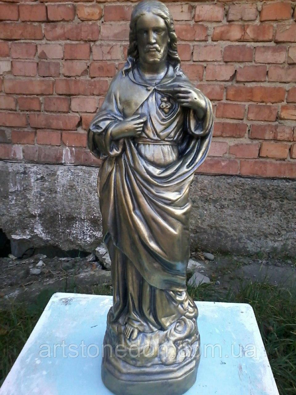 Статуя Иисуса Христа из белого бетона 40 см