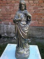 Статуя Иисуса Христа из белого бетона 40 см, фото 1