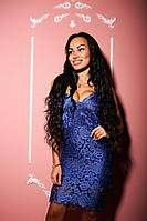 Женское стильное кружевное платье-майка (3 цвета)