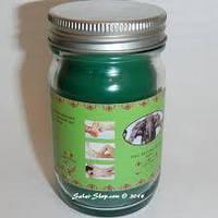 Зеленый бальзам со слоном Thai Kinaree