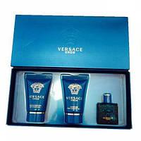 VERSACE Versace Eros Man Set (edt 5ml+a/sh 25ml+sh/gel 25ml)