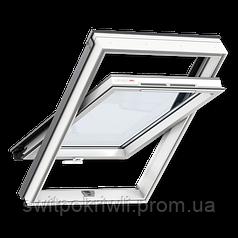 VELUX Оптима GLP 0073B – Пластиковое окно, ручка снизу