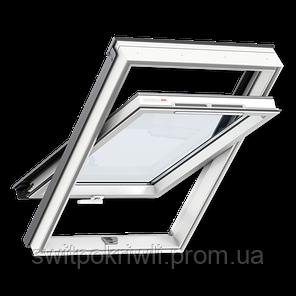 VELUX Оптима GLP 0073B – Пластиковое окно, ручка снизу, фото 2