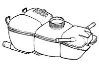 Бачок расширительный Opel Omega B