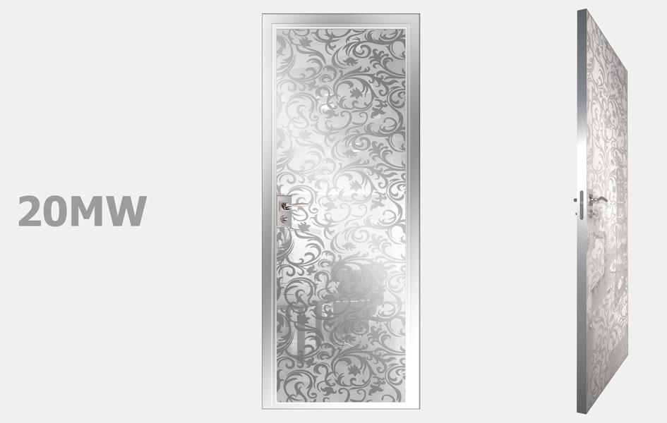 Двери межкомнатные Моноколор белый рис. 20