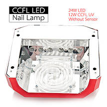 УФ лампа CCFL+LED DIMOND на 36 Вт  (black), фото 3