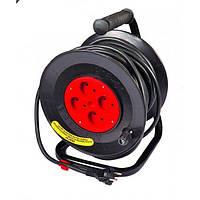 Удлинитель на катушке без теплозащиты MasterTool 2x2,5 кв.мм, 20 м (94-0040)