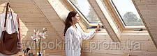Мансардное окно VELUX PREMIUM Стандарт GZL 1051B – ручка снизу, фото 2