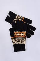 Перчатки унисекс вязаные NATIVE Urban Planet (рукавиці, рукавички, мужские перчатки, женские перчатки)