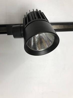 Светодиодный трековый светильник SL-4003 10W 4000К черный Код.58054, фото 2