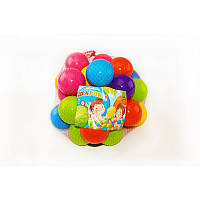 Шарики для сухого бассейна 60 мм мягкие 30 шт. в сетке   M- toys