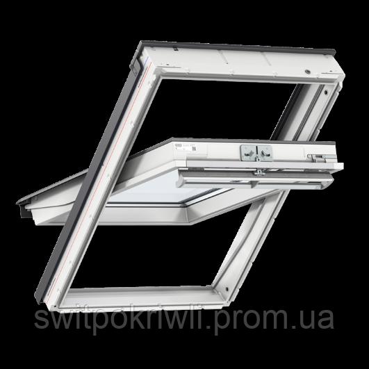Мансардное окно VELUX PREMIUM Стандарт GLU 0051 – ручка сверху