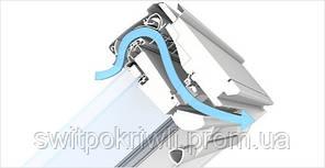 Мансардное окно VELUX PREMIUM Стандарт GLU 0051 – ручка сверху, фото 3