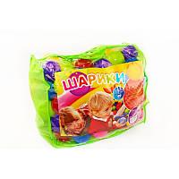 Шарики для сухого бассейна 80 мм мягкие 100 шт. в сумке  M- toys