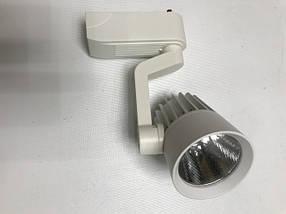 Светодиодный трековый светильник SL-4003 10W 6400К белый Код.58056