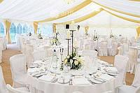 Оформление свадьбы, украшение зала, свадебное оформление ресторана