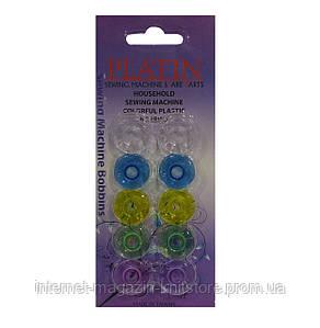 Шпульки пластиковые Platin для швейных машин универсальные/Класс 15K