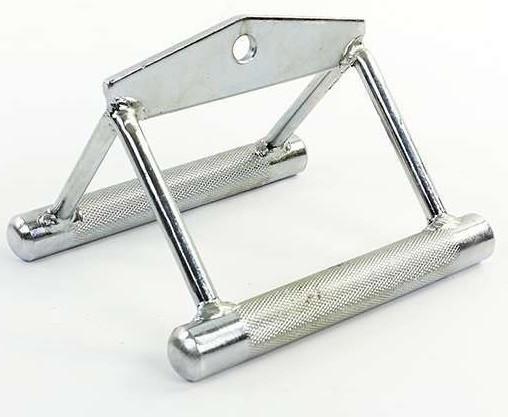 Ручка подвійна для тяги вузьким хватом з насічкою TA-5134
