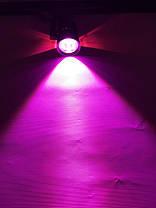 Трековий світлодіодний фітосвітильник SL-4003F 10W (full spectrum led) чорний Код.59094, фото 2