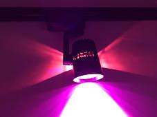 Трековий світлодіодний фітосвітильник SL-4003F 10W (full spectrum led) чорний Код.59094, фото 3